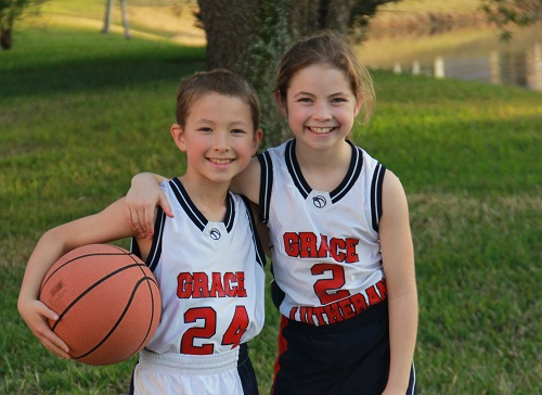 helena and james grace lutheran jax basketball
