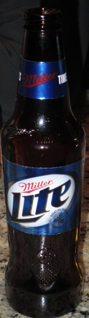 Miller Lite's New Bottle 2013
